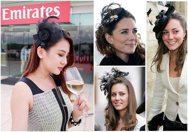 Fascinator - Kate Middleton Inspired