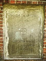 Robert Treat Paine, Granary Burial Ground