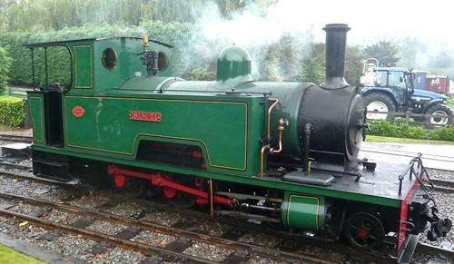 'ISIBUTU' 4-4-0T at the 'Statfold Barn Railway' on 'Dennis Basford's railsroadsrunways.blogspot.co.uk