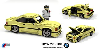 BMW E36 M3 Coupe - 1992