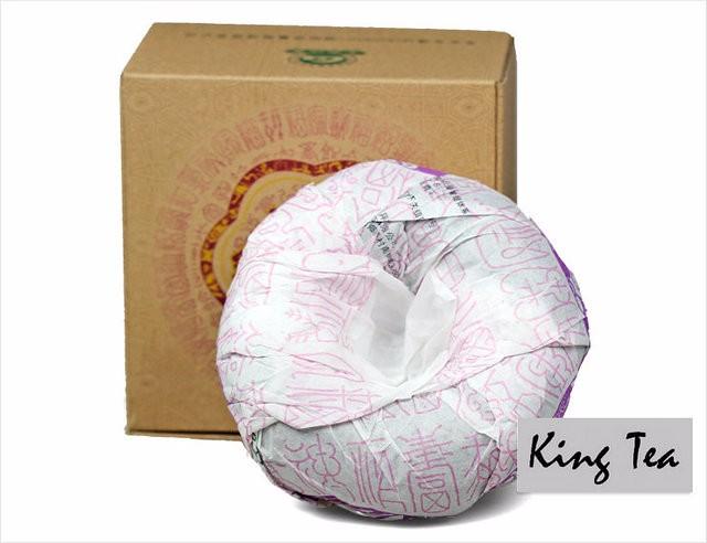 Free Shipping 2014 XiaGuan JinGua Royal Boxed Tuo 1000g China YunNan Chinese Puer Puerh Raw Tea Sheng Cha Weight Loss Slim Beauty