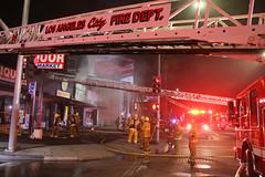 GREATER ALARM FIRE DAMAGES WINNETKA STRIP MALL