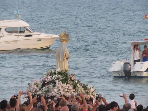 Procesión de Nuestra Señora del Carmen de Punta Humbría