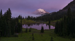 Tipsoo Lake in the Morning (Mt Rainier NP, WA)