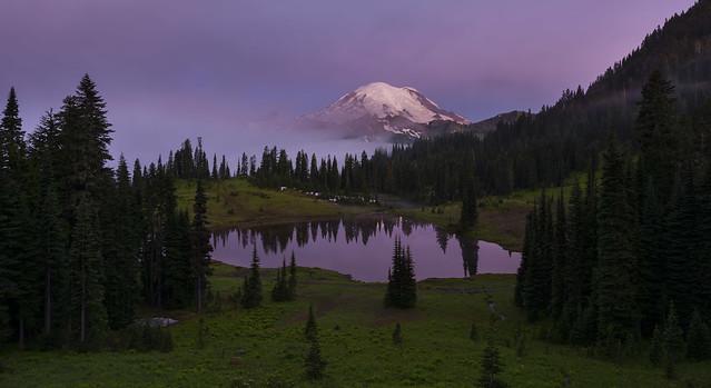 Tipsoo Lake in the Morning (Mt Rainier NP, WA)