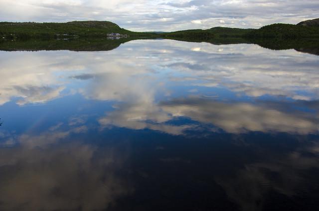 Russain border lake Neitjärvi