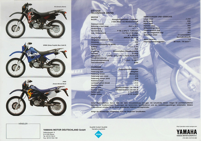Best posts made by Darty | DT125R FORUM
