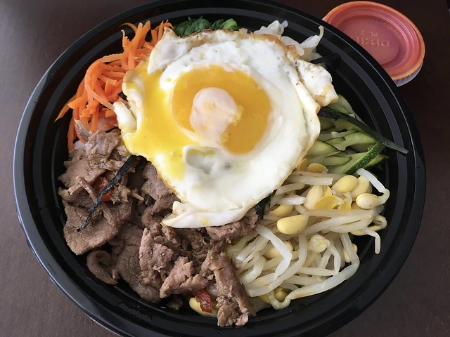 Bibimbap with beef - The Store on the Corner