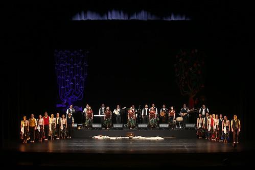 Bafona en el Teatro Municipal de Lima