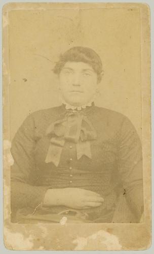 CDV portrait of a woman