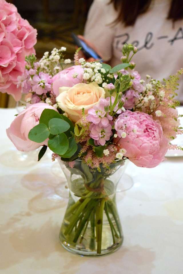 Flowers at Percy Pig's 25th Birthday Dinner | www.rachelphipps.com @rachelphipps