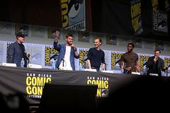 Kevin Feige, Chris Hemsworth, Tom Hiddleston, Chadwick Boseman & Mark Ruffalo
