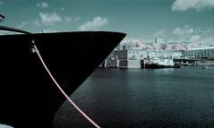 port de Brest infrarouge