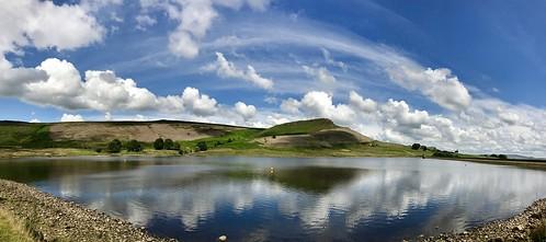 embsay landscape reservoir sky cloud yorkshiredales