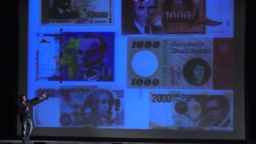 Tyson on banknotes