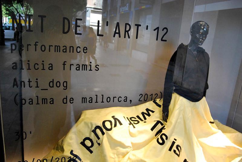 Nit de l'Art 2012: Alicia Framis