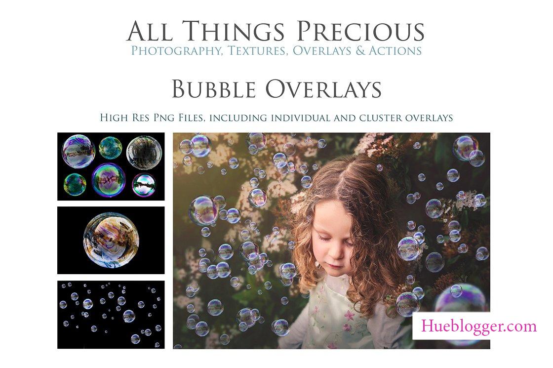 Overlay tạo bong bóng cho hình ảnh lung linh