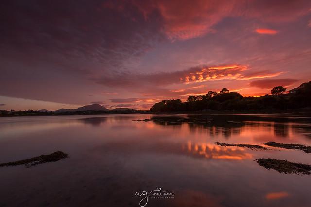 Muckish sunset & reflections