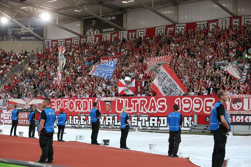 01.08.2017  FC Rot-Weiss Erfurt vs. F.C. Hansa Rostock 0-1, Foto: Frank Steinhorst-Pressefoto