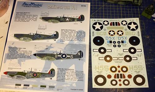 Seafire Mk.III, Airfix 1/48 36193706095_c6191ed618