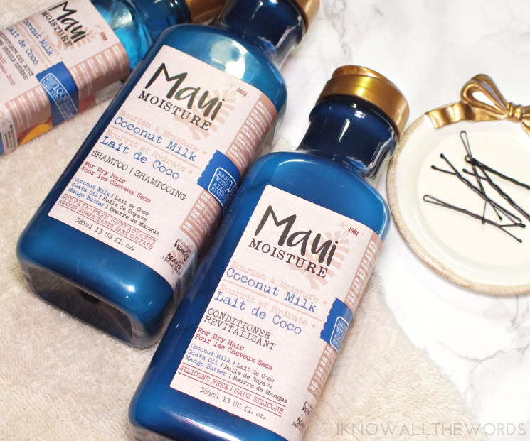 Maui Moisture Nourish & Moisture + Coconut Milk Shampoo and Conditioner