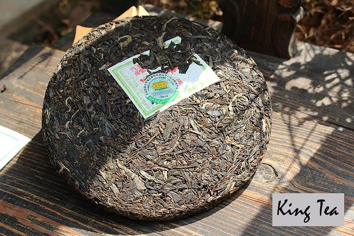 Free Shipping 2007 ShuangJiang MengKu Spring Bud ChunJian Cake 400g China YunNan Chinese Organic Puer Puerh Raw Tea Sheng Cha Slim
