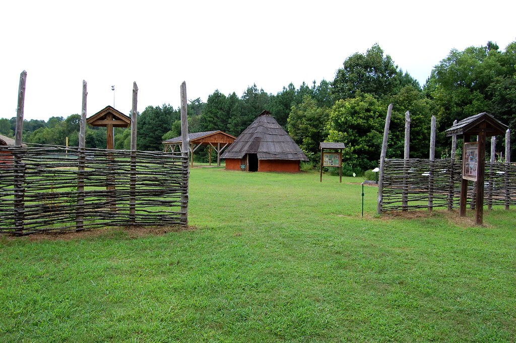 photo of native american village