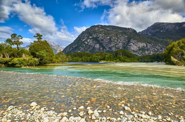 Río Tres Colores - P.N. Laguna de San Rafael (Patagonia Chile)