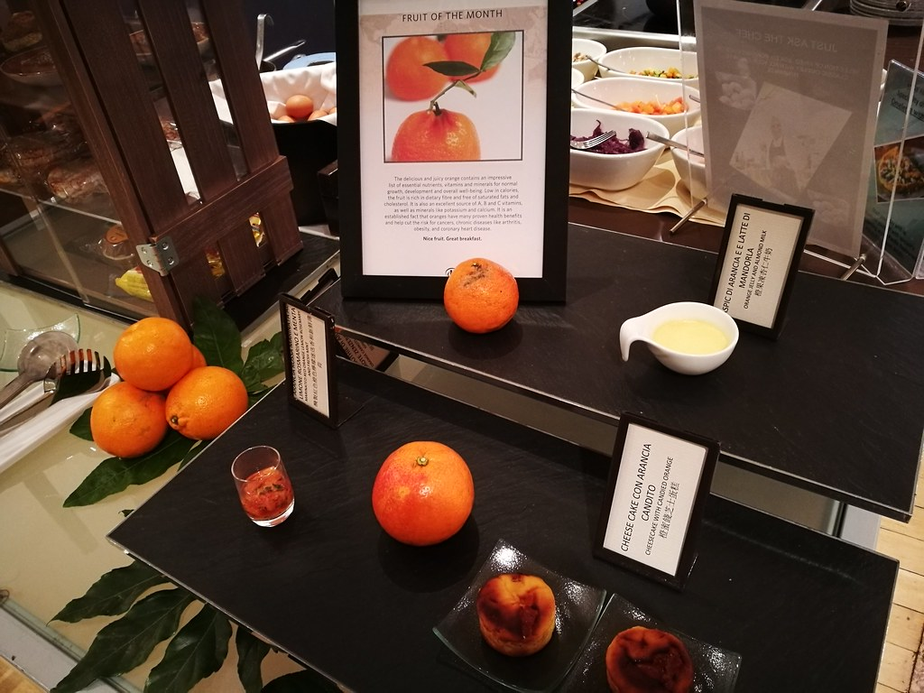 Orange themed dishes