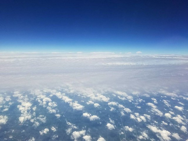 Clouds on clouds on clouds 💺💺💺