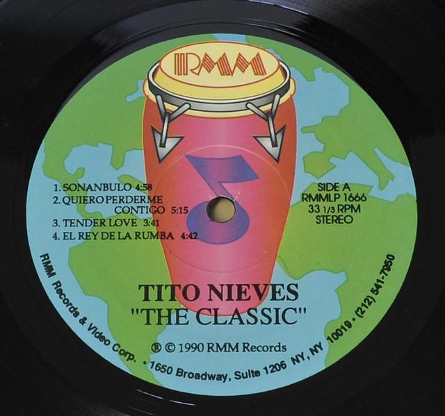 "TITO NIEVES - THE CLASSIC TITO NIEVES 12"" LP VINYL"