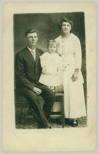 RPPC family portrait