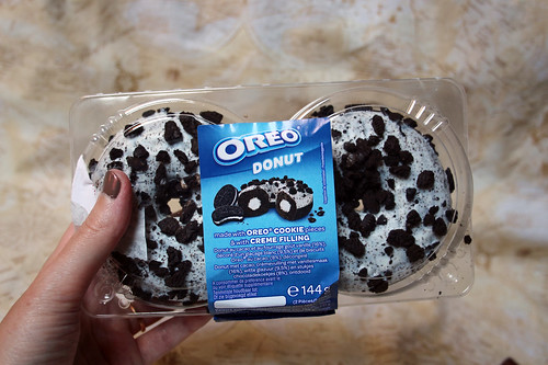 I caved for the Monsanto donuts O_o