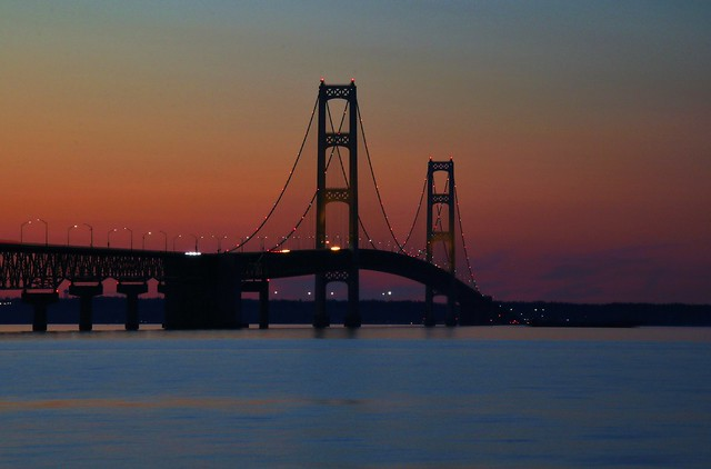 Mackinac Bridge, Canon EOS REBEL T6S, Sigma 18-250mm f/3.5-6.3 DC OS HSM
