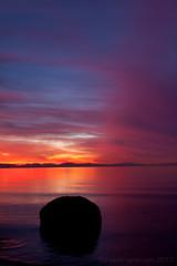 Wreck beach sunset-7982