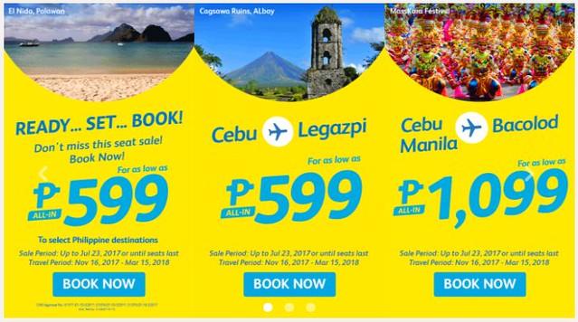 Ready Set Book Cebu Pacific Air Promo