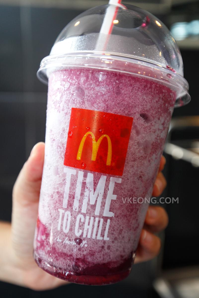 McDonald's Frozen Fanta