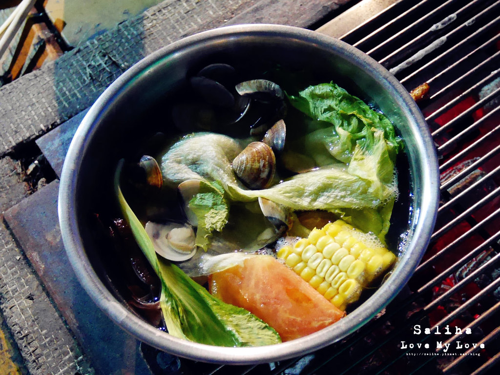 台中沙鹿區夜景餐廳推薦蠔膽你來露天燒烤吃到飽火烤兩吃