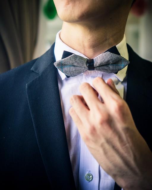 The Little Link Sherlock Double Bow Tie
