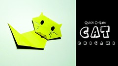 Video Paper Cat for Kids: