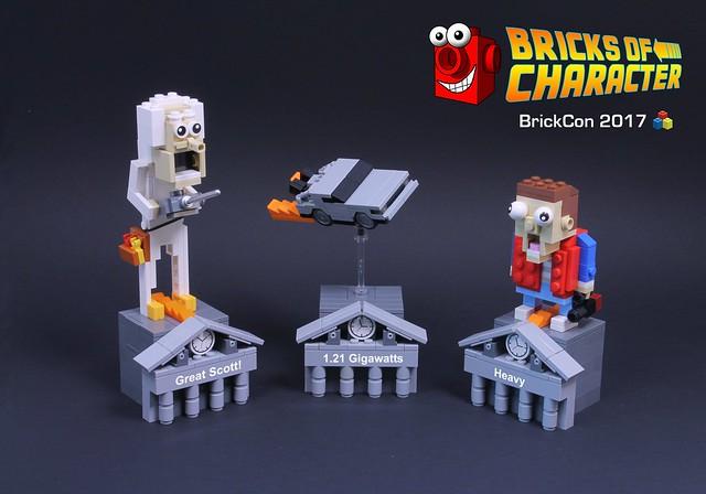 Bricks of Character at BrickCon 2017