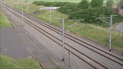 Belgian High Speed Lines - A coupled PBA- and PBKA-trainset in the direction of Lille.