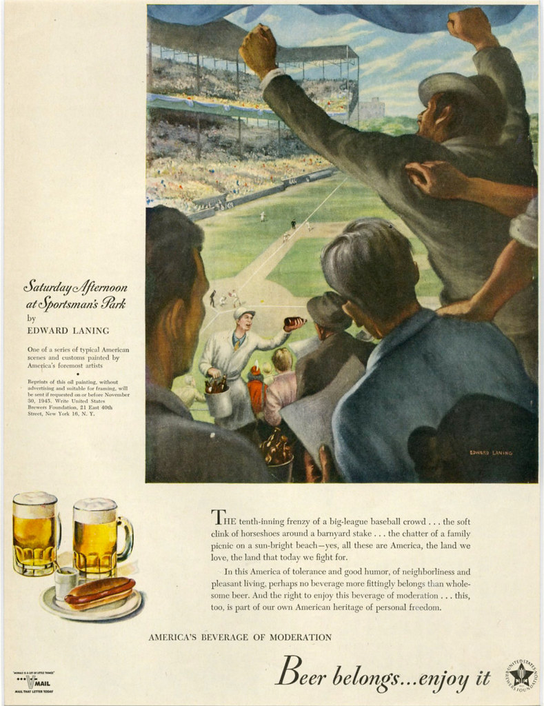 Beer-Belongs-1945-baseball