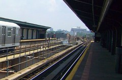 BMT 121 Street Station (J) - Jamaica El