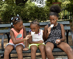 ICE CREAM AT PULLEN PARK