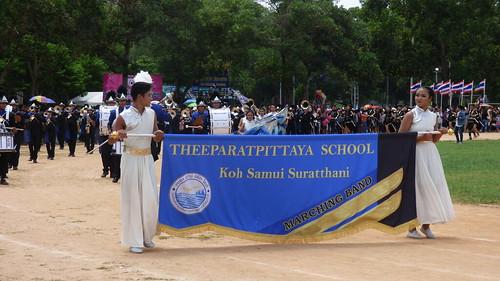 Koh Samui School Parade
