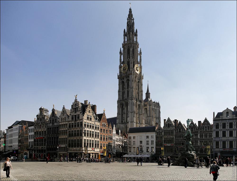 Кафедральный собор, Антверпен, Бельгия