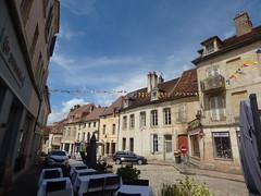 Place Notre Dame, Semur-en-Auxois - Rue Févret