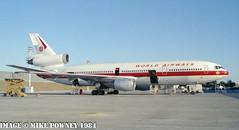 N904WA - 1973 build Douglas DC-10-10, airframe still operational with Fedex as N559FE