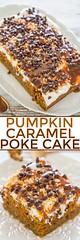 Pumpkin Caramel Poke